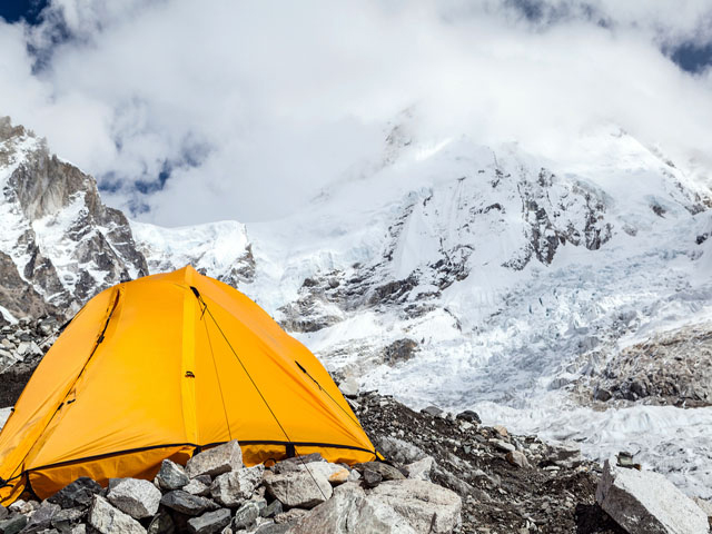 Everest Base Camp Himalaya Mountain