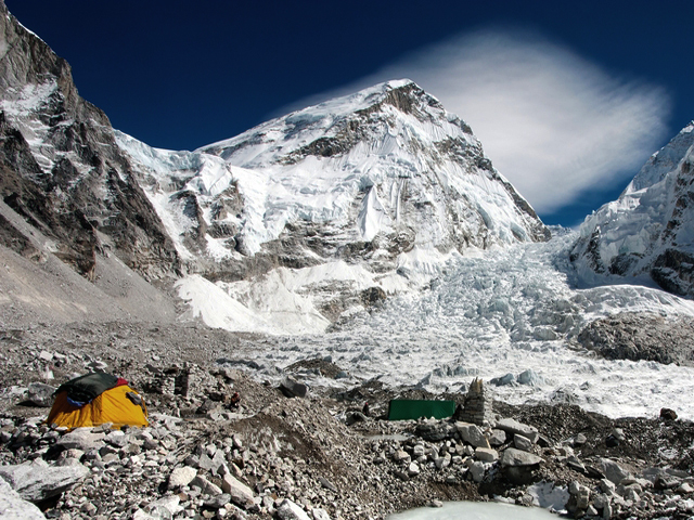Mount Everest Base Camp Himalayas Nepal