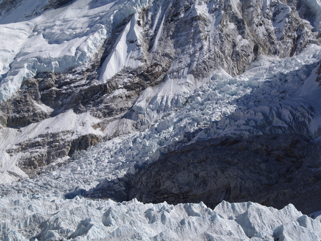 The Khumbu Ice Fall