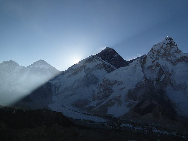 Sunrise Over Everest