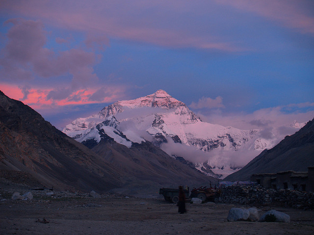 Sunset in Mount Everest