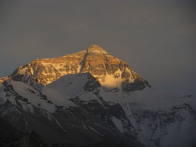 Mount Everest Sunset Tibet