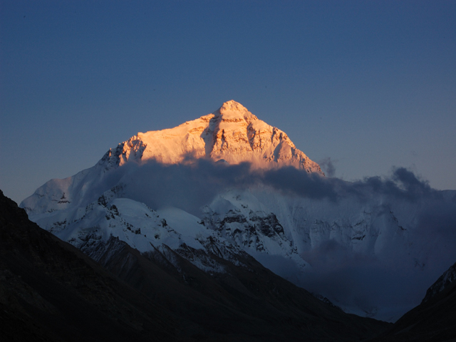 Sunset At Mount Everest