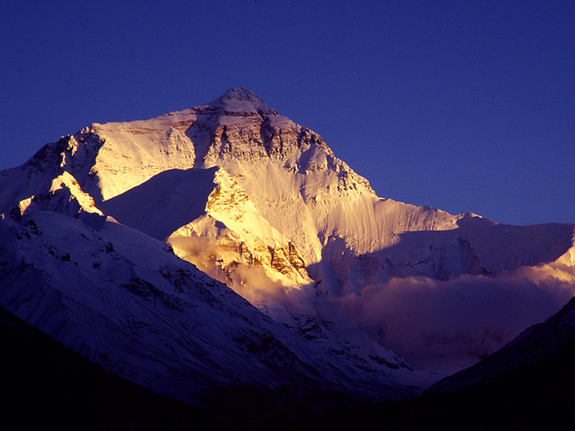 Sunset of Mount Everest
